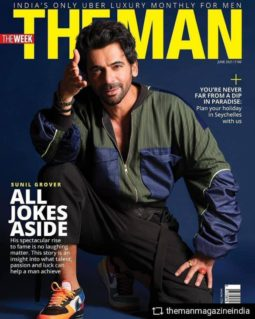 Sunil Grover On The Covers Of The Man