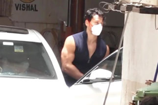 Tiger Shroff spotted at gym in Andheri