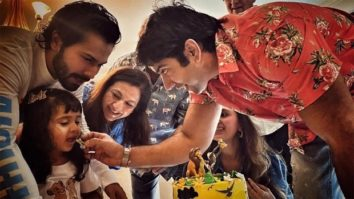 Varun Dhawan shares family pictures from his niece's birthday celebration