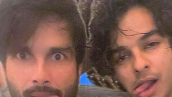 "Ishaan Khatter misreads Shahid Kapoor's Karan Arjun reference for their goofy pictures; asks ""Kaun Bandar?"""