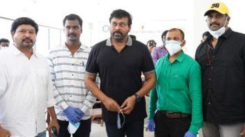 Chiranjeevi's mega vaccination drive For Telugu film workers