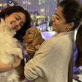 Rashmika Mandanna and Charmme Kaur meet in Mumbai; share pics with their pets