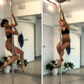 Jacqueline Fernandez gets back to pole dancing after a very long time; watch