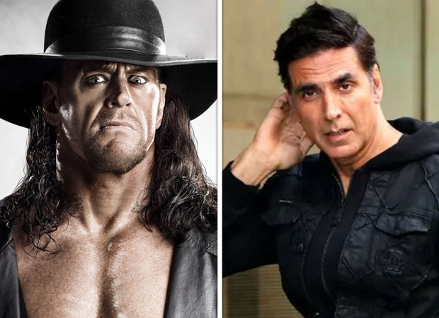 The real Undertaker challenges Akshay Kumar for a fight; the actor responds