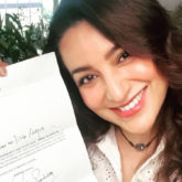 Tisca Chopra gets a letter of appreciation from Amitabh Bachchan for her book, 'What's Up With Me?'