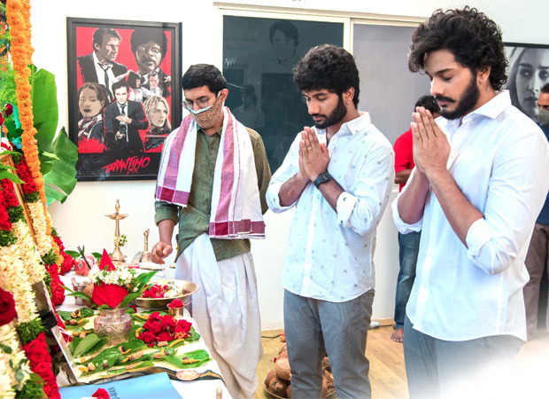 Prasanth Varma, Teja Sajja, and Primeshow Entertainment's HANU-MAN gets launched with a grand event