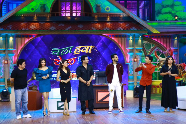 Zee Comedy Factory joins Chala Hawa Yeu Dya for a 3-day laugh riot, Farah Khan joins the artists in their madness