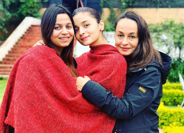 """""""These two n me"""", Says Soni Razdan as she shares cozy vacation pictures with Alia and Shaheen Bhatt"""