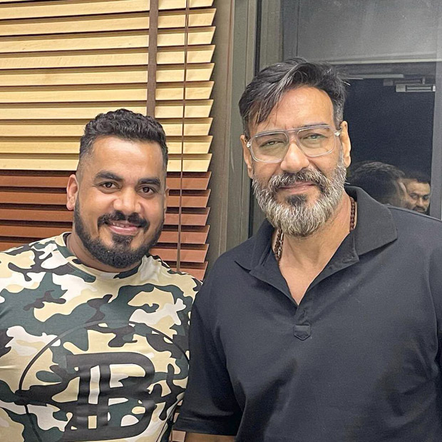 Ajay Devgn flaunts his new grey beard look in latest pictures from his bodyguard's birthday
