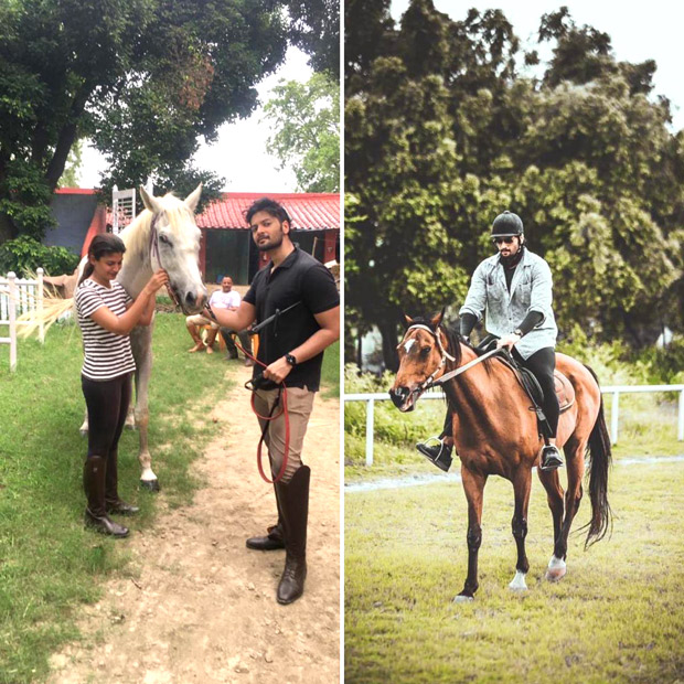 Ali Fazal pursues his passion for horse riding and begins training in Mumbai