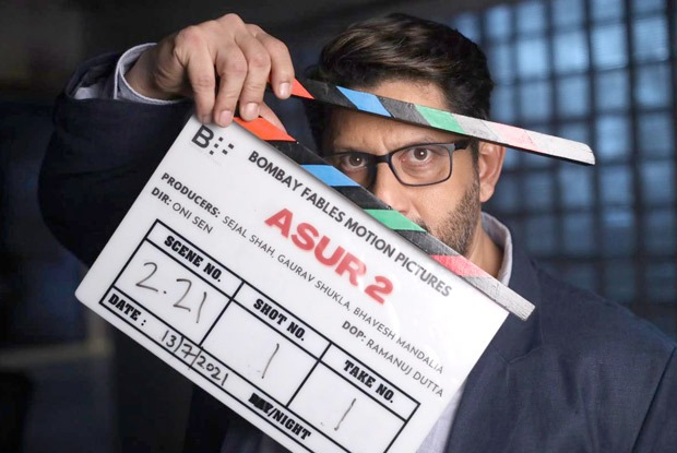 Arshad Warsi begins shooting for season 2 of Asur