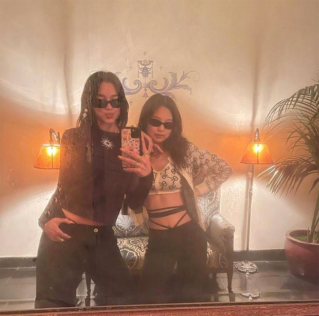 BLACKPINK's Jennie and Dua Lipa reunite in Los Angeles giving major summer goals