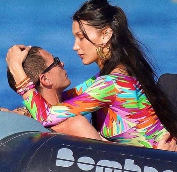 Bella Hadid sizzles in black bikini amid Cannes 2021 appearance, takes time off to spend time with beau Marc Kalman at the beach