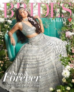 Sonakshi Sinha On The Covers Of Brides Today