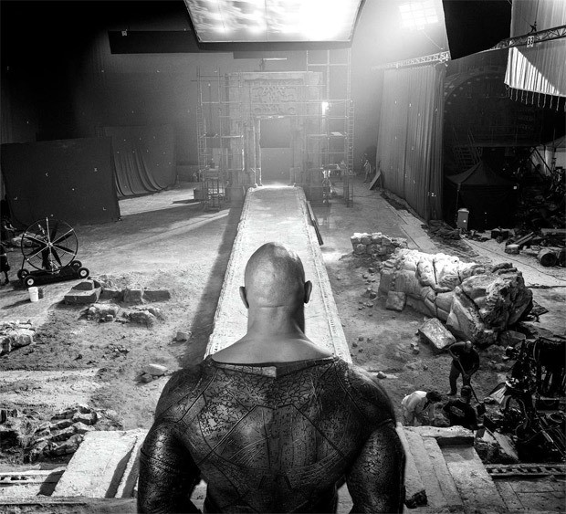 """Dwayne Johnson shares a glimpse from the sets of Black Adam - """"The hierarchy of power in the DC Universe is changing"""""""