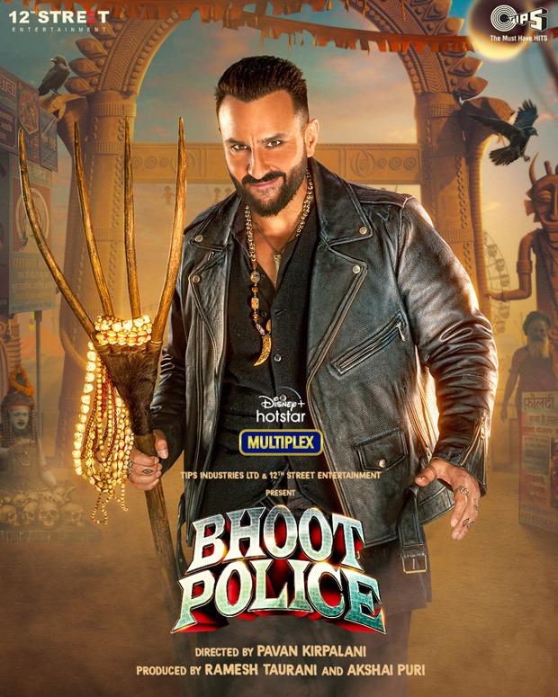 First Look: Saif Ali Khan stars as Vibhooti in Bhoot Police