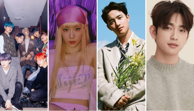 From BTS, Taeyeon to EXO's D.O and GOT7's Jinyoung - monthly roundup of Korean music releases in July 2021