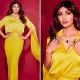 From Hungama 2 promotions, Shilpa Shetty glows in yellow Alex Perry outfit worth Rs. 1.4 lakh