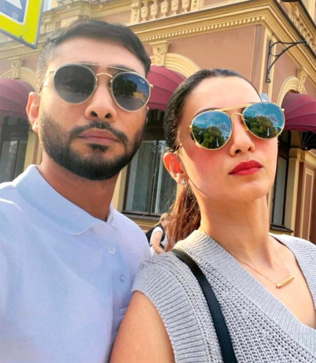 Gauahar Khan aces the off-duty looks during her honeymoon in Russia with Zaid Dardar