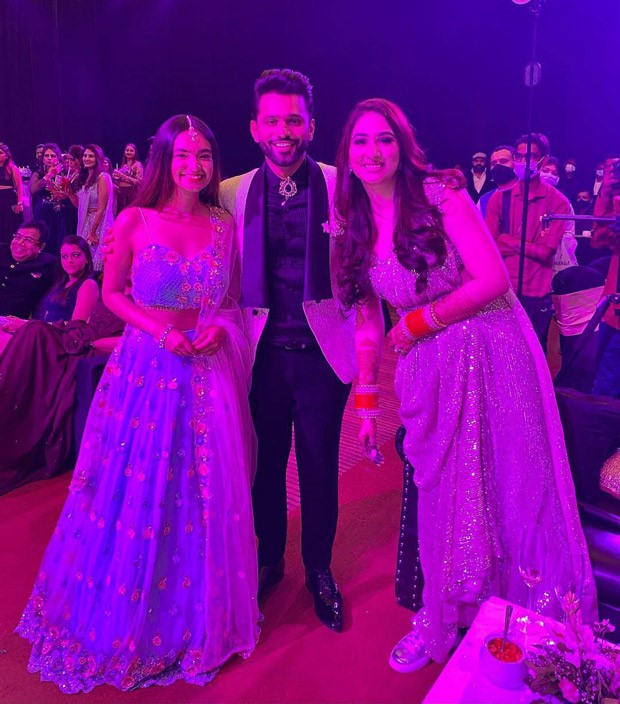 INSIDE PICS AND VIDEOS: Anushka Sen, Arjun Bijlani, Shweta Tiwari, Aly Goni, Jasmin Bhasin among others attend Rahul Vaidya - Disha Parmar's wedding reception