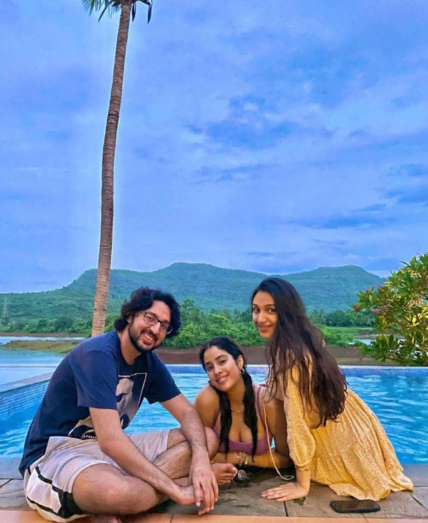 Janhvi Kapoor shares series of throwback pictures as she chills by the pool with friends