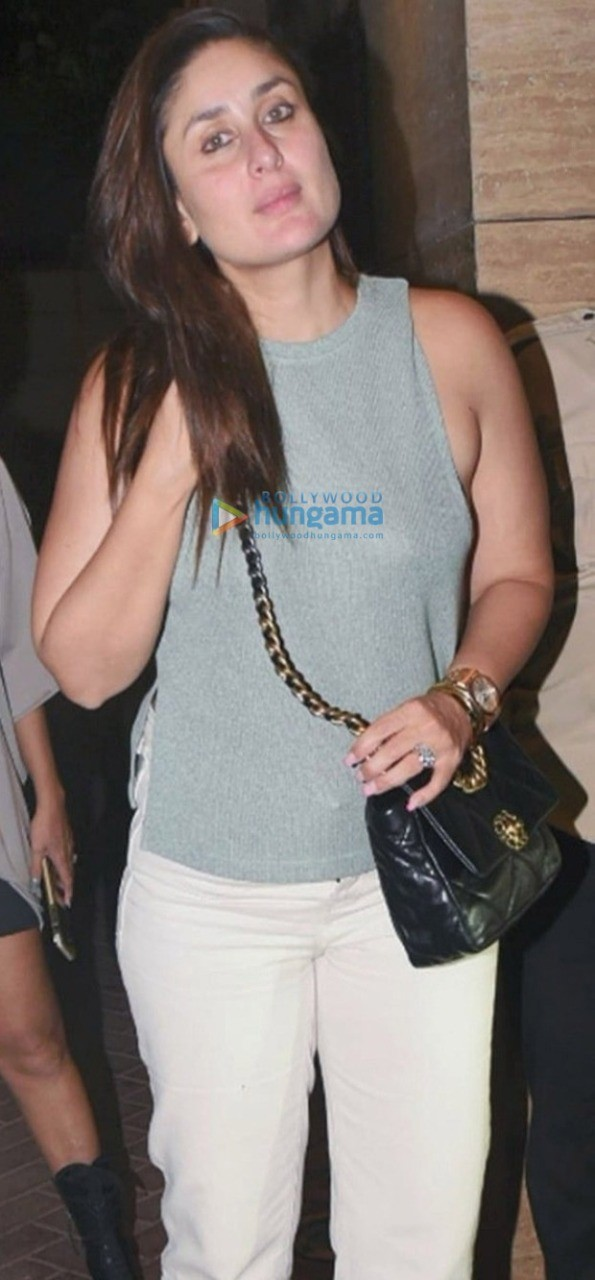 Kareena Kapoor Khan makes a shimmery appearance in the city with a Chanel bag worth Rs. 4.6 lakh