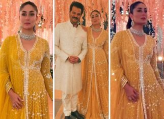 Kareena Kapoor Khan radiates in gorgeous Ridhi Mehra georgette anarkali worth Rs. 1.48 lakh; shoots an ad with Anil Kapoor