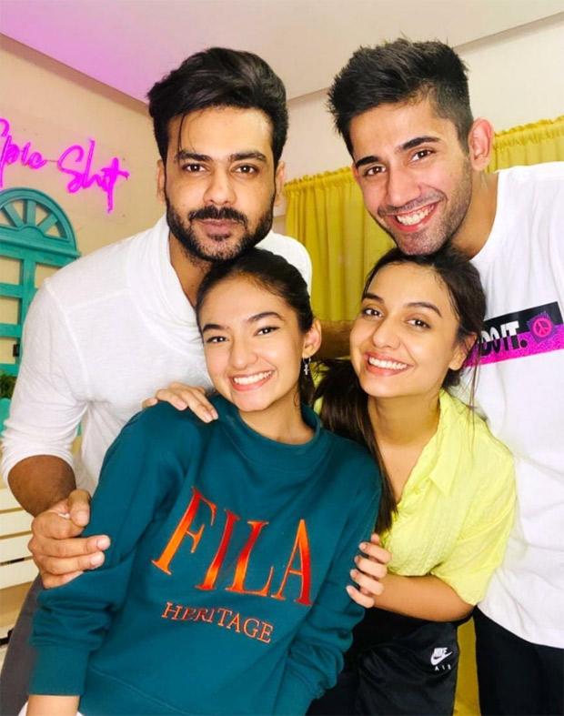 Khatron Ke Khiladi 11 Anushka Sen, Vishal Aditya Singh and Varun Sood reunite with latter's girlfriend Divya Agarwal