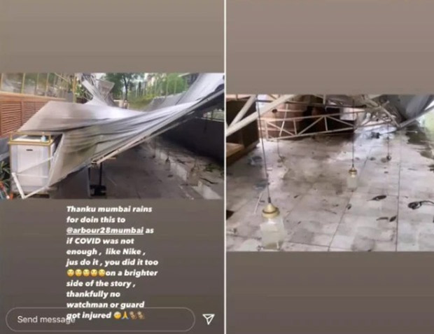 Kushal Tandon suffers loss of Rs 20-25 lakhs after heavy rainfalls damaged his restaurant