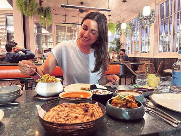 Parineeti Chopra gets emotional as she enjoys dal-roti in London