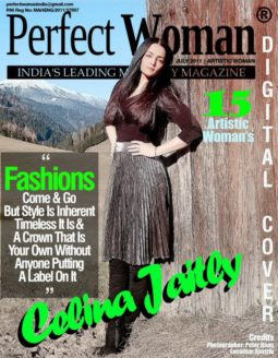Celina Jaitly On The Covers Of Perfect Woman