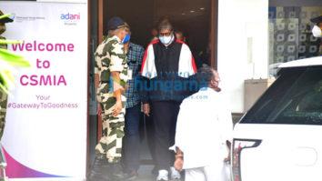 Photos: Amitabh Bachchan snapped at the airport in Kalina