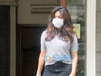 Photos: Chitrangda Singh spotted outside a clinic in Khar