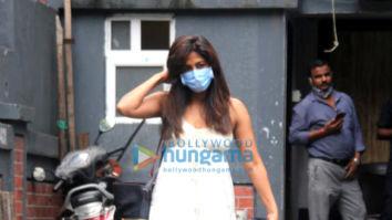 Photos: Chitrangda Singh spotted outside a salon in Bandra