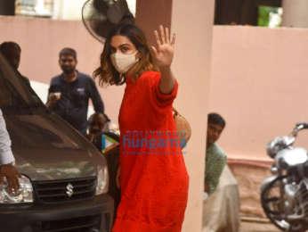 Photos: Deepika Padukone and Kartik Aaryan snapped at Sanjay Leela Bhansali's office in Juhu