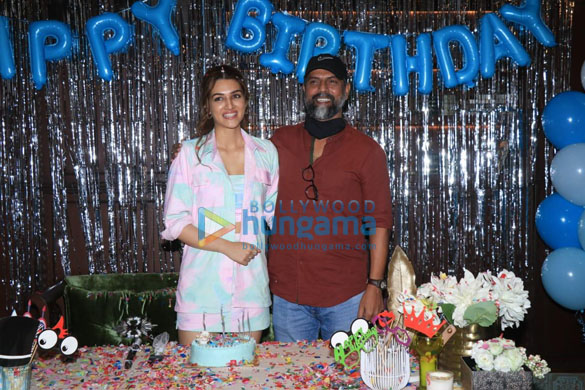 Photos Kriti Sanon brings in her birthday by hosting a special screening of Mimi at the Maddock office on Monday-81 (3)