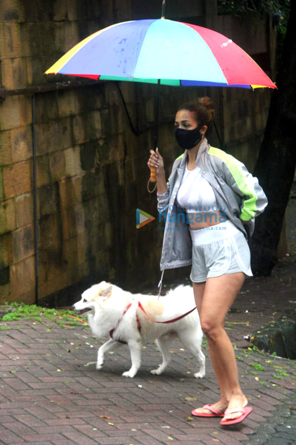 Photos: Malaika Arora and Sophie Choudry spotted in Khar