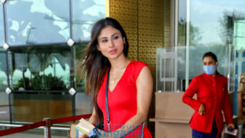 Photos: Mouni Roy, Ameesha Patel, Hansika Motwani and others snapped at the airport