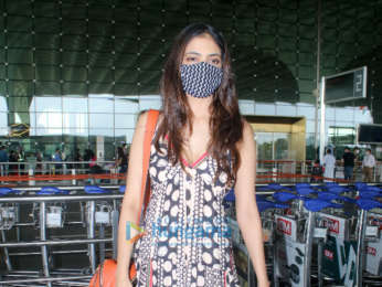 Photos: Mrunal Thakur and Malavika Mohanan spotted at the airport