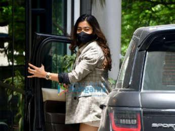 Photos: Rashmika Mandanna spotted at Maddock Films' office