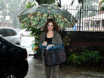 Photos: Sussanne Khan snapped at a salon in Juhu
