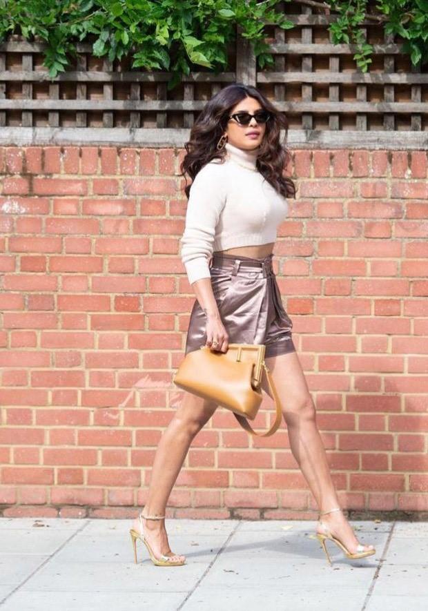 Priyanka Chopra serves major glam in neutral tones donning Fendi