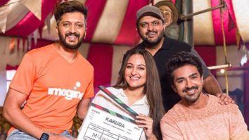 RSVP announces horror-comedy Kakuda starring Riteish Deshmukh, Sonakshi Sinha, Saqib Saleem; film goes on floors today