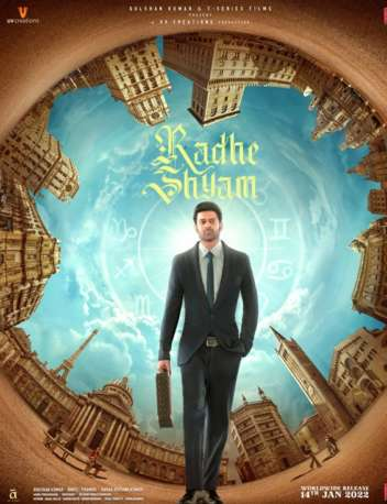 First Look Of The Movie Radhe Shyam