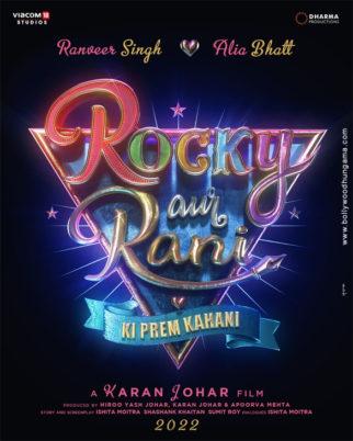 First Look of the Movie Rocky Aur Rani Ki Prem Kahani