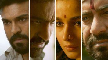 SS Rajamouli's RRR starring Ram Charan, Jr. NTR, Alia Bhatt, Ajay Devgn boasts grandeur and epic action in the making video