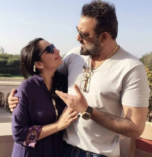"""Sanjay Dutt pens a heartfelt note to his wife Maanayata Dutt - """"You are the backbone of our family and the light of my life"""""""