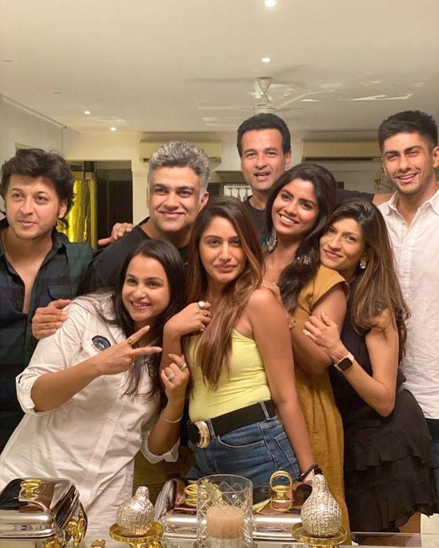 Sanjivani 2 cast Sayantani Gosh, Surabhi Chandna, Namit Khanna, Rohit Roy and others reunite for a special get together