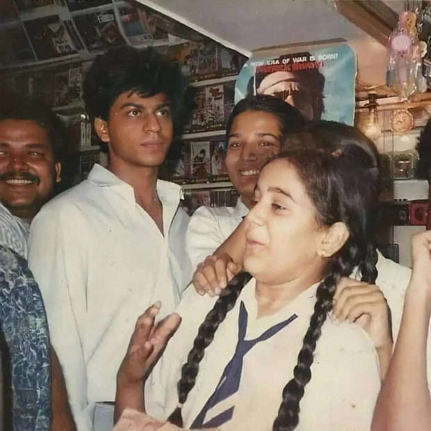 Shah Rukh Khan's old photo in school uniform goes viral; Richa Chadha reveals actor was her 'first love'