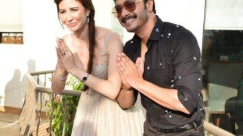 Shreyas Talpade and Giorgia Andriani kick off the shoot for Welcome To Bajrangpur